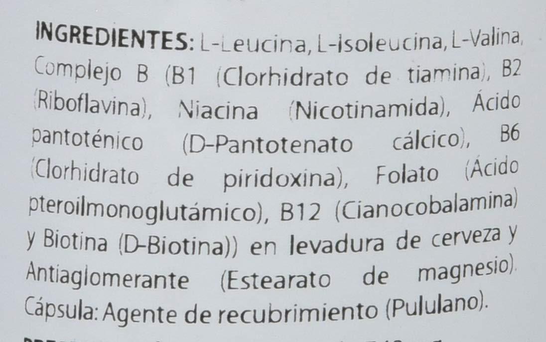 Equisalud Holomega Aminoácidos Ramificados - 50 Cápsulas: Amazon.es: Alimentación y bebidas