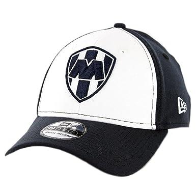 New Era 3930 Rayados de Monterrey Flexfit Hat (DN WH DN) Mexico ... 103b9f340f9