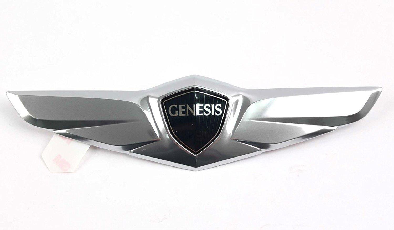 Genesis Car Logo >> Amazon Com Hyundai Wing Rear Trunk Emblem Compatible For 2015