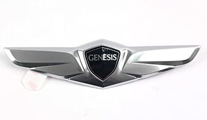 Amazon Com Hyundai Wing Rear Trunk Emblem Compatible For 2015