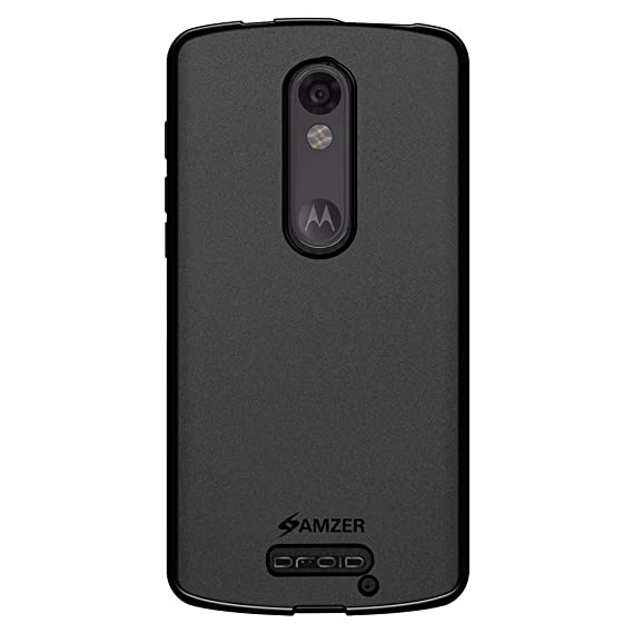 AMZER Pudding Soft Gel TPU Skin Fit Case Cover for Motorola DROID Turbo 2 XT1585,