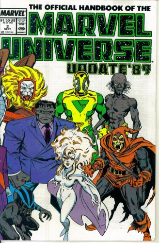 (The Official Handbook of the Marvel Universe Update '89 #3 : From Eon to Hulk (Marvel Comics))