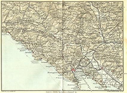 Amazon Com Italy Moneglia La Spezia Levanto Sarzana 1926