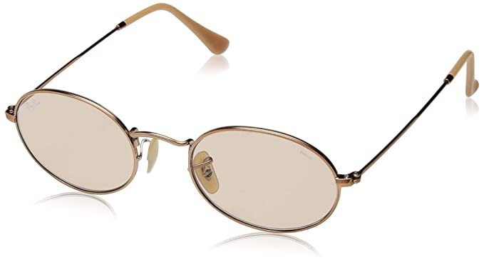 915fd5ce09d Amazon.com  Ray-Ban Oval Sunglasses COPPER 57.0 mm  Clothing