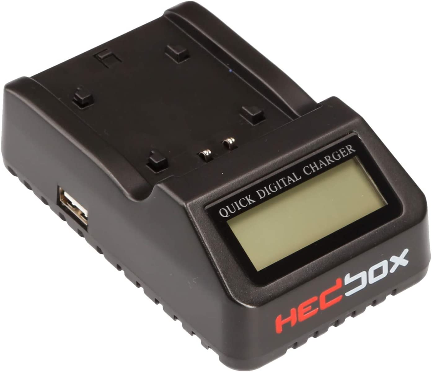 Dual LCD Intelligent Battery Charger Compatible for Sony NP- F550//F570//F750//F770//F930//F950//F960//F970 NP-FM50//QM71-D//QM91-D and Hedbox RP- NPF550//NPF770//NPF970//NPF1000 RP-DC50//DFM50 HEDBOX