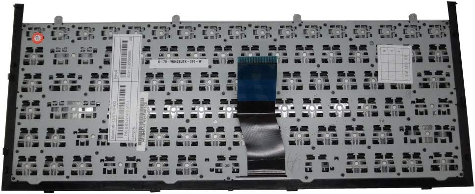 Laptop Keyboard for CLEVO MP-12R76D0-430 6-80-W5470-070-1 Germany GR with Black Frame