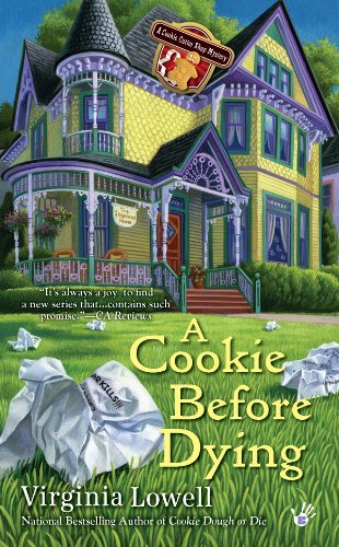 A Cookie Before Dying (A Cookie Cutter Shop Mystery Book 2)