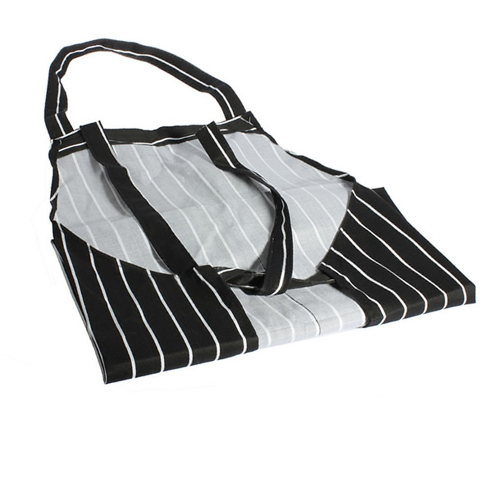 Vektenxi Premium Quality Striped Butchers Chef Cooking Kitchen Catering Apron