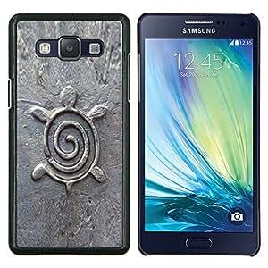 LECELL--Funda protectora / Cubierta / Piel For Samsung Galaxy A5 A5000 -- Arquitectura Diseño Estatuilla de piedra --