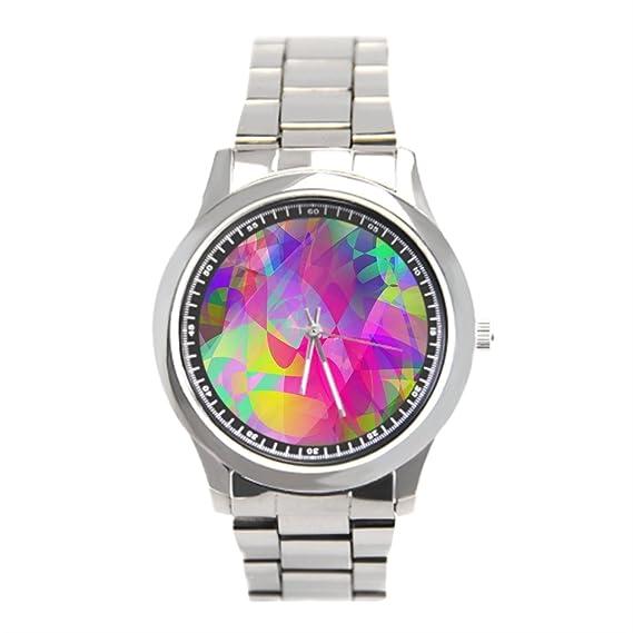dodoband comprar en línea reloj de pulsera Relojes para hombres de acero  inoxidable artística  Amazon.es  Relojes 0d33ee85148f
