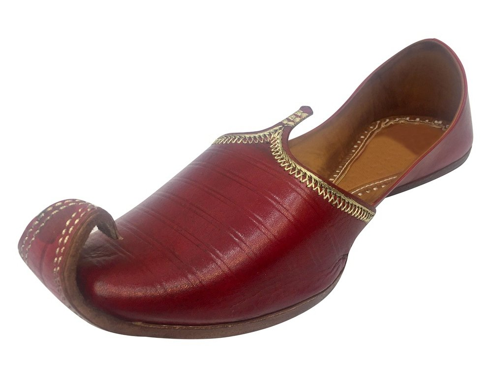 Step n Style Indian Flip-Flops Genuine Leather Men Shoes Handmade Jutti Wedding Juti