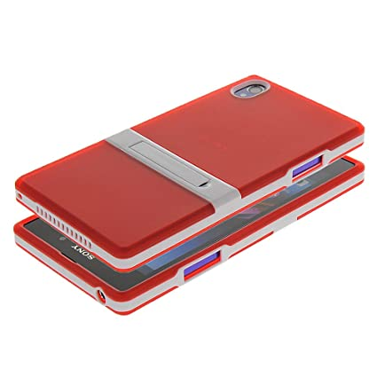Amazon.com: BBOBD Red Stand Function Silicone Case ...
