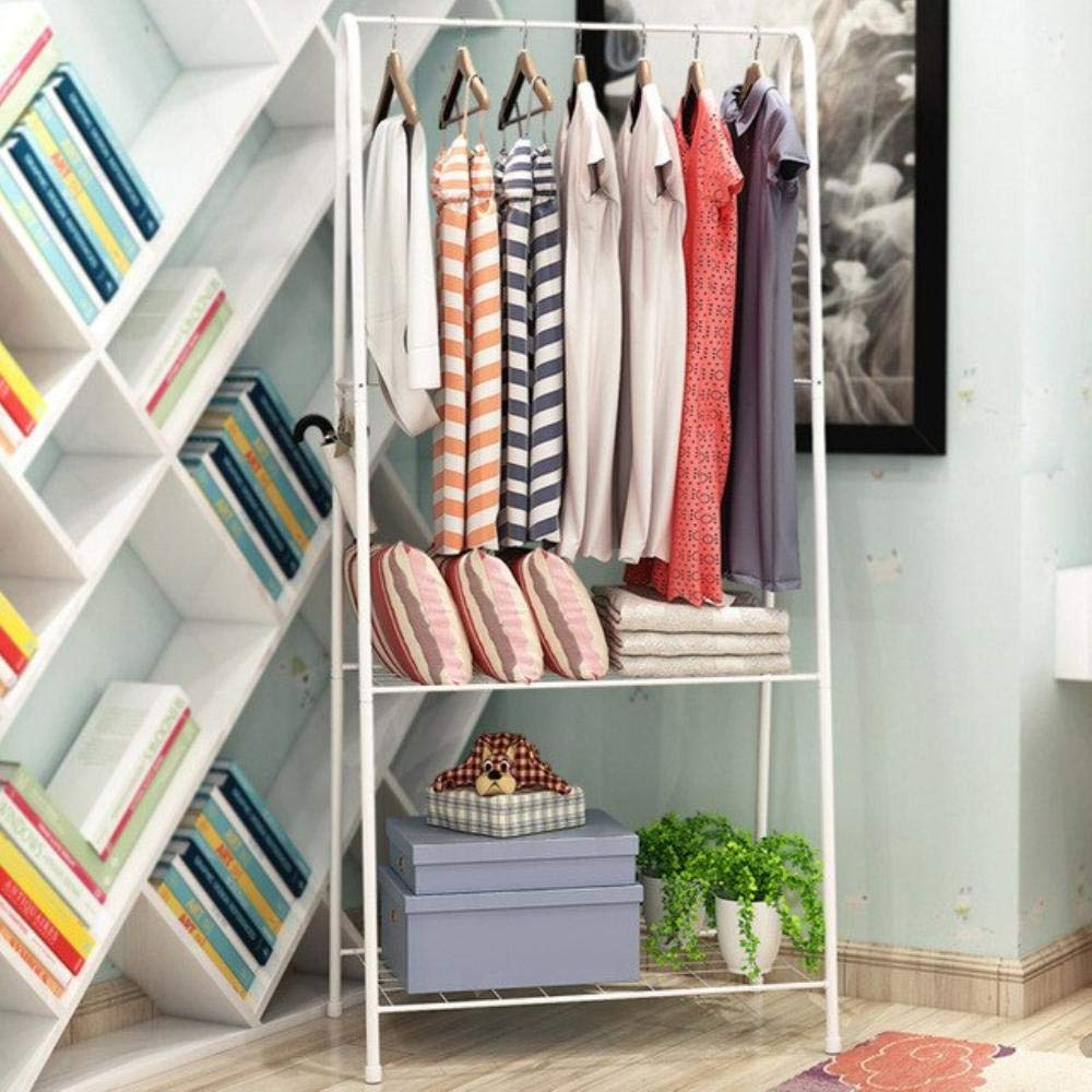 Amazon.com: Clothes Hanger Coat Rack Floor Hanger Storage ...