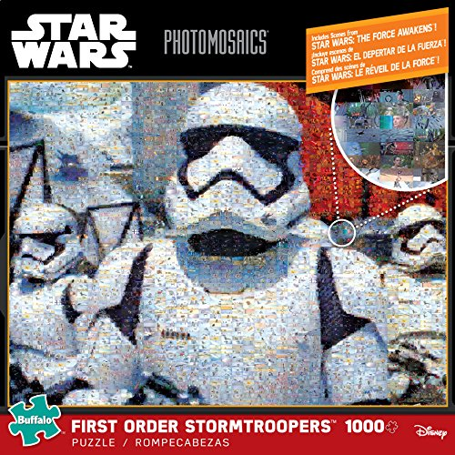 1000 Piece Jigsaw Puzzle Buffalo Games 10608 Photomosiac First Order Storm Troopers Star Wars