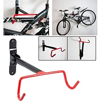 cooloh - Soporte de Gancho para Bicicleta, Montaje en Pared, diseño de Bicicleta