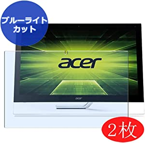 """【2 Pack】 Synvy Anti Blue Light Screen Protector for ACER AIO Aspire 5600u All in ONE 23"""" Screen Film Protective Protectors [Not Tempered Glass]"""