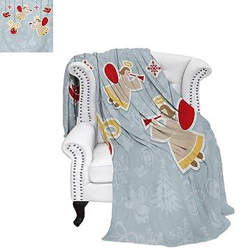 Amazon.com: Colcha de verano con diseño de ángel de la ...