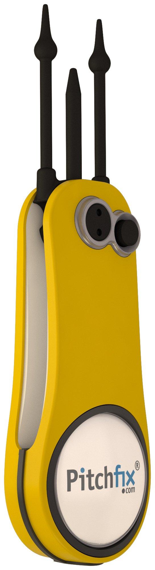 Pitchfix Fusion 2.5 Pin, Yellow/White by Pitchfix (Image #1)