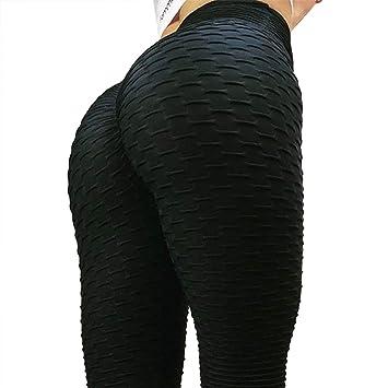 379101493a79 FITTOO Women Sexy High Waist Butt Scrunch Push Up Leggings Stretch Gym Workout  Yoga Pants: Amazon.co.uk: Sports & Outdoors