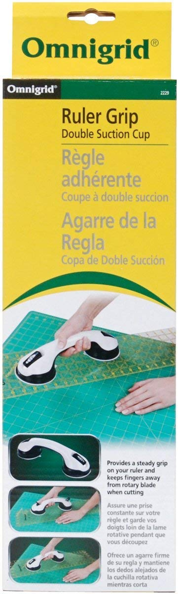 Omnigrid 2229 Ruler Grip Double Suction Cup