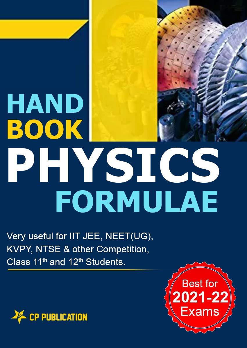 Handbook of Physics Formulae for IIT JEE & NEET-UG 2021-2022 By Career Point Kota