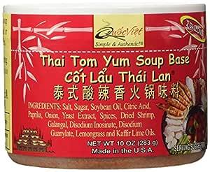 Quoc Viet Foods Thai Tom Yum Flavored Soup Base 10oz Cot Lau Thai Lan Brand
