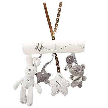 SODIAL(R)Juguete suave Conejito Conejo o Perro del cuarto Musica de Cuna Guarderia