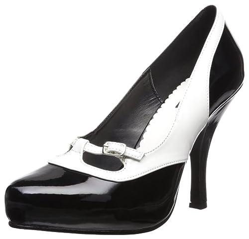Vestir Mujer Zapatos Para Couture Pinup De Sintético Material CStnq8w