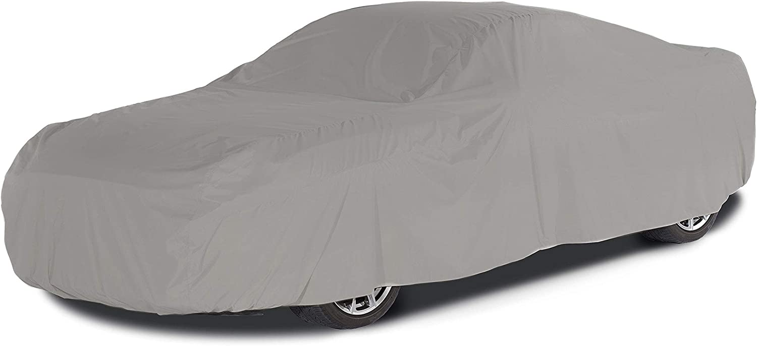 Covermates Outdoor Car Covers - Weathertite Max Polyester - Weatherproof and Durable - Grey