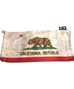 Oakley Country Flag Microbag, CA State Flag, One Size