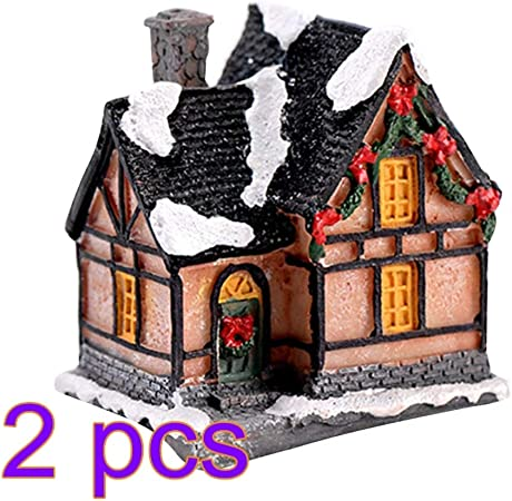 4 color /& Size In Set Miniature Fairy Garden Mushroom House Ornament Outdoor JV