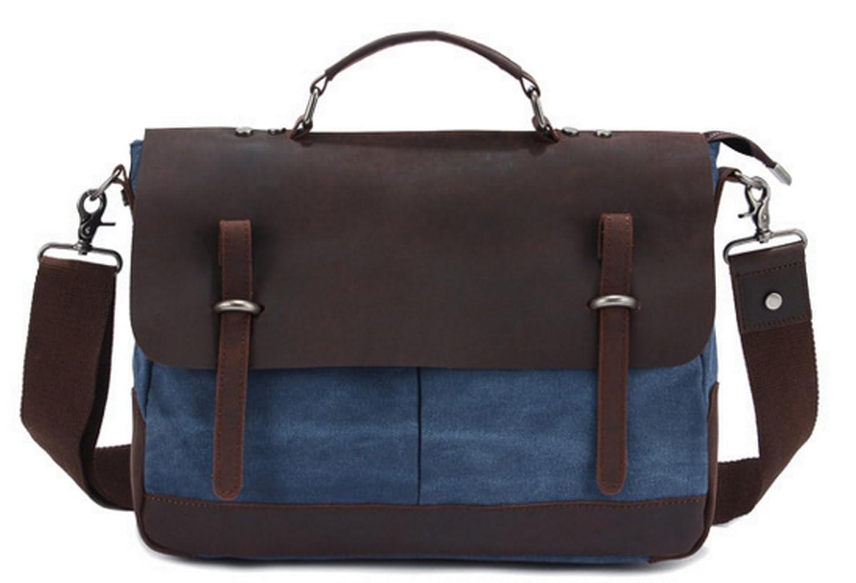 Womens Canvas Evening Bag Girls Fashion Tote Mens Crazy Horse Leather Messenger Large Satchel Travel Bag