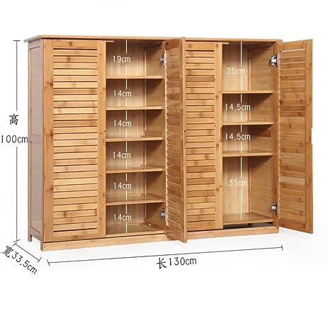 Wooden shoe cabinet bamboo shoe rack solid woodsimpleshoebox storage room shoe rack  sc 1 st  Amazon.com & Amazon.com: Wooden shoe cabinet bamboo shoe rack solid woodsimple ...