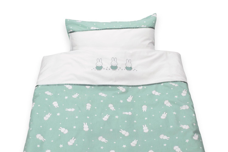 jade Miffy Bettw/äsche Bettdeckenbezug 120x150 cm und Kopfkissenbezug 40x60 cm