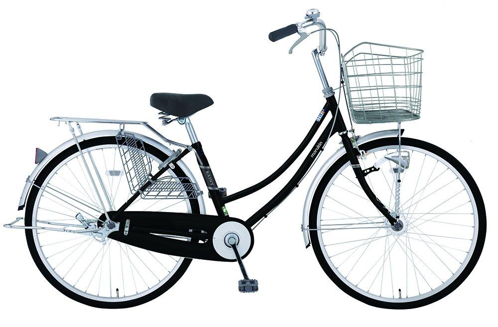 marukin(マルキン) 完全組立 27インチ自転車 LEDオートライト シマノ製内装3段ギア レイニーホーム ブラック MK-18-013 ブラック B078L5G8L9