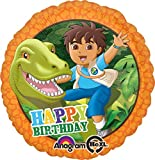 Anagram International HX Go Diego Go Birthday Packaged Party Balloons, Multicolor
