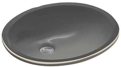 Charmant KOHLER K 2209 58 Caxton Undercounter Bathroom Sink, Thunder Grey