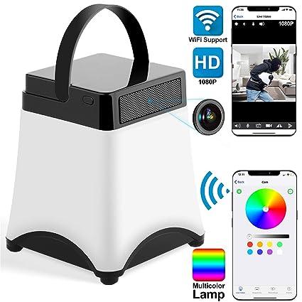 amazon com spy camera wireless hidden camera wifi led night rh amazon com