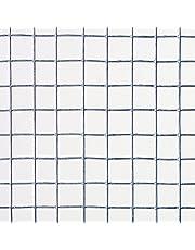Catral 55010008 Malla Cuadrada Galvanizada, 100x300x4 cm, color plata