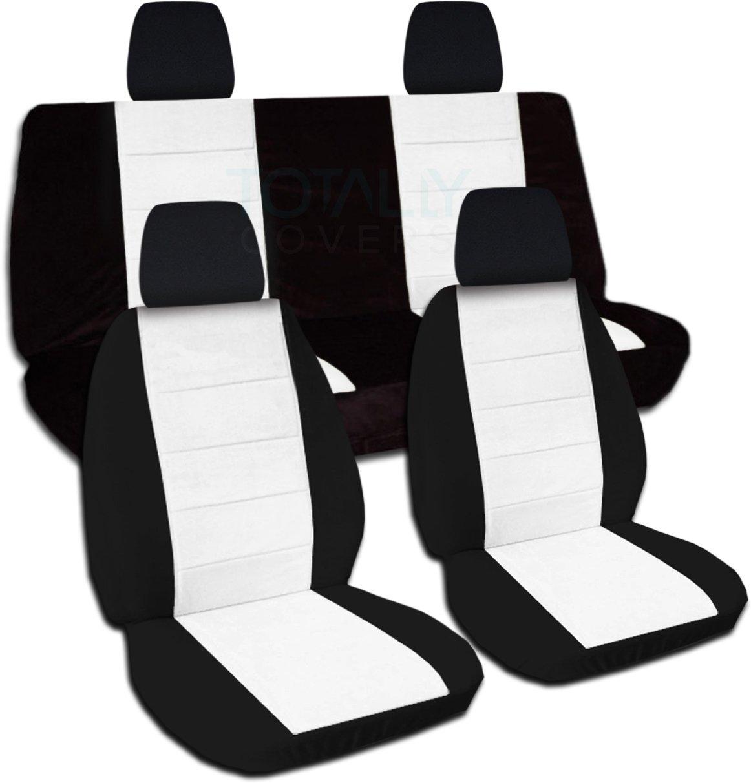 front black rear w cotton yj blue itm wrangler full and logo jeep covers seat jk set tj tone