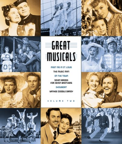 Great Musicals - Musical Americana 6-Pack: Meet Me In St. Louis, The Music Man, On the Town, Seven Brides for Seven Brothers, Show Boat, Yankee Doodle Dandy [VHS]