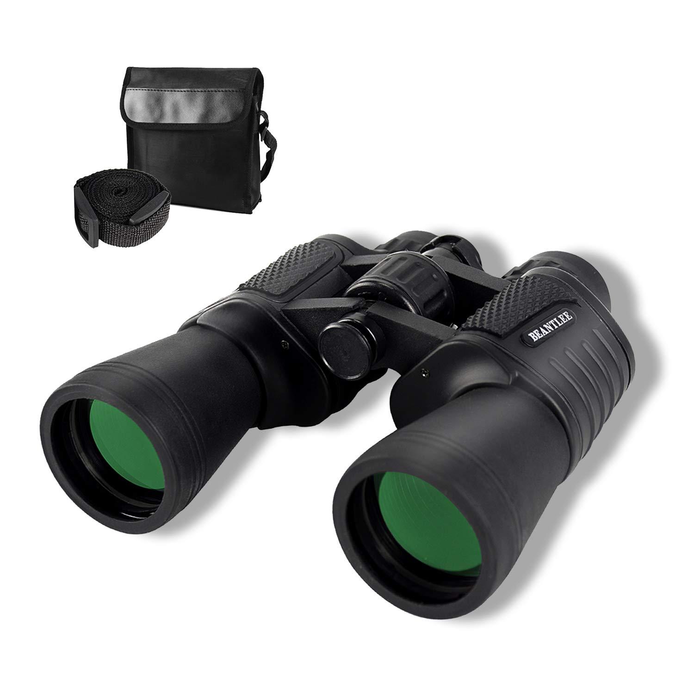 Binoculars for Adults,UncleHu 20X50 Porro Prism Compact Waterproof Binoculars with Low Light Night Vision, HD High Power Binoculars for Bird Watching, Travel, Hunting, Wildlife, Sports, Concert by UncleHu