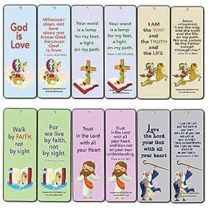 Amante cristiana marcadores para niños (60-pack) - Biblia