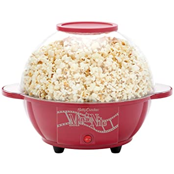 Amazon.com: Betty Crocker bc-2970cr cinema-style palomitero ...