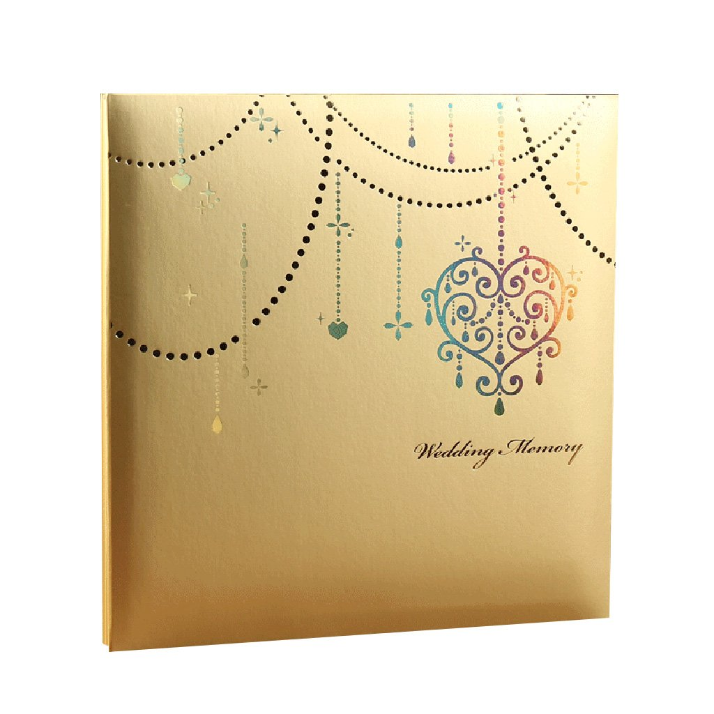 TYJY- Diy Hand-paste Album , 20 Sheets (40 Pages) White Pages, Family Couple's Wedding Album,Home Storage Placed by PHOTO ALBUMS