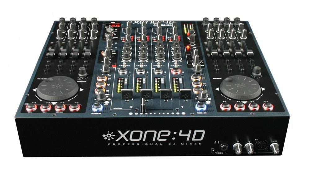Allen & Heath XONE : 4D プロフェッショナルDJミキサー / オーディオインターフェイス / DJコントローラー B004SGDYVY