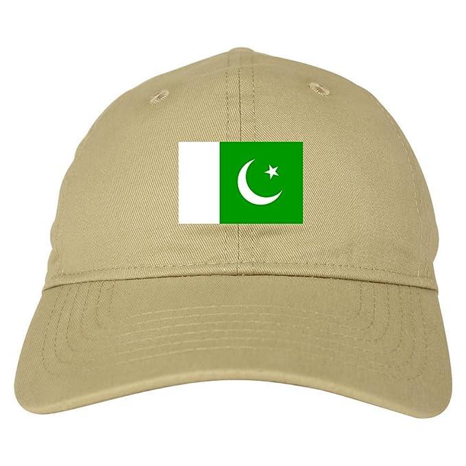 ff186d41e59 Amazon.com  Pakistan Flag Country Chest Dad Hat Baseball Cap Beige ...