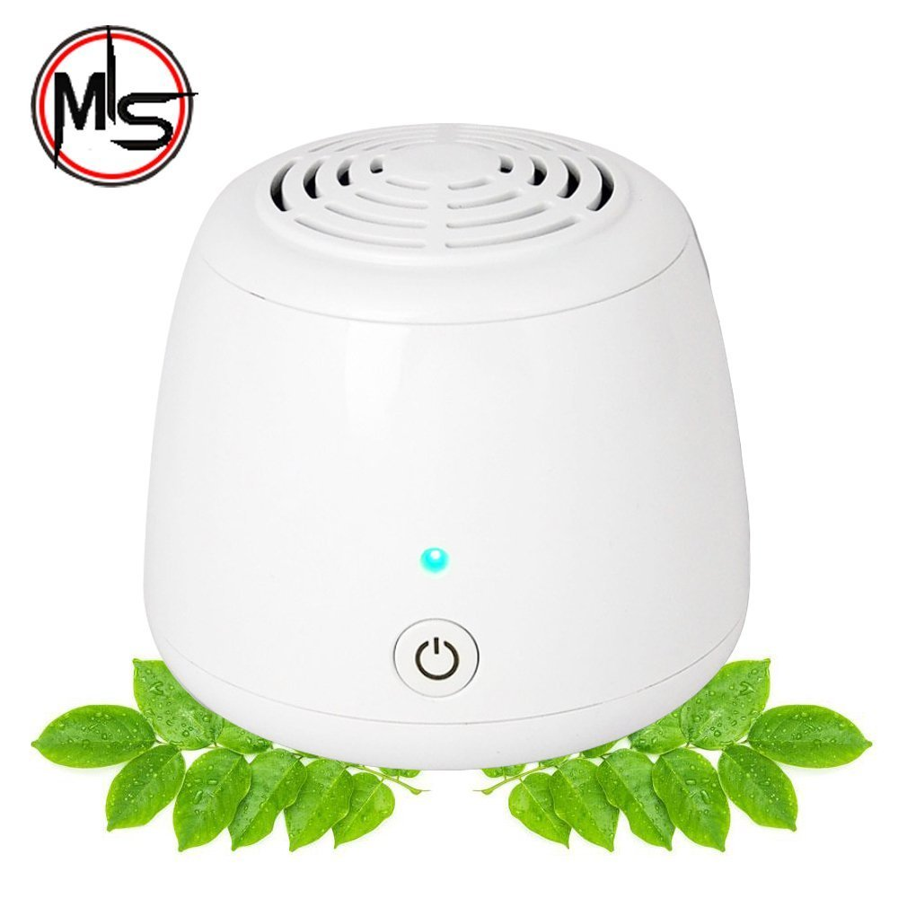 Portable Air Purifier Mini Ozone Generator Purifier Cleaner for Small Bedroom, Pets Room, Refrigerator, Car, Promotion by MY'S