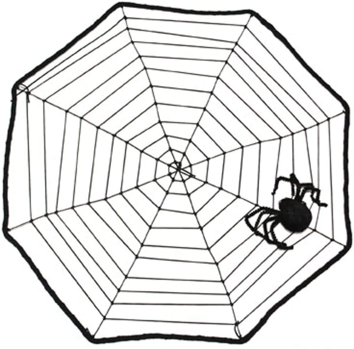 Lote/Conjunto de 12 Piezas - Telaraña Malla 40cm
