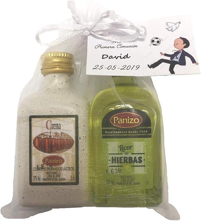 Pack 24 unidades de licores panizo para regalar (Crema de orujo y licor de Hierbas)